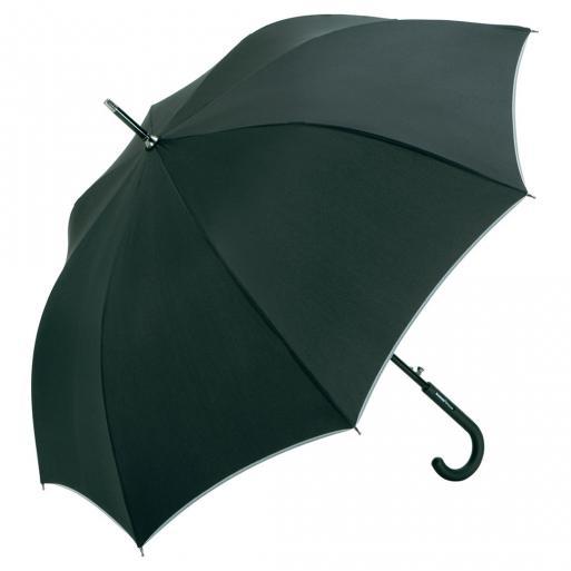 AC alu midsize paraplu Windmatic Black Edition