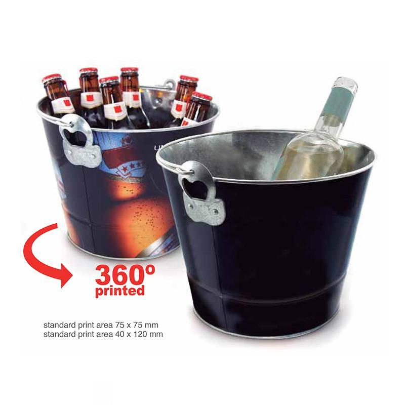 Metallic Ice Bucket